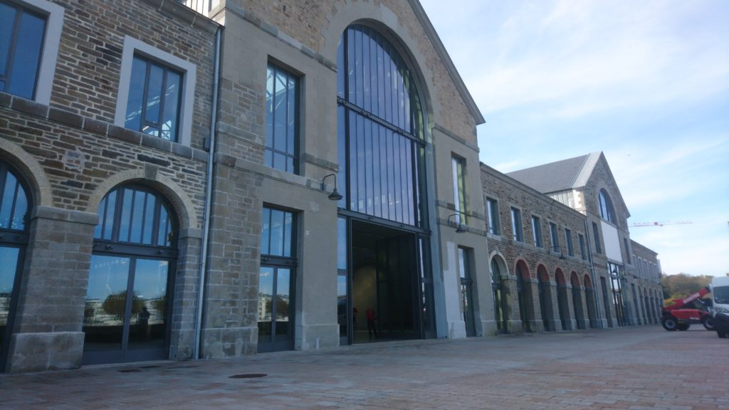 Porte monumentale pour les Ateliers des Capucins, Brest (29) | Renouard