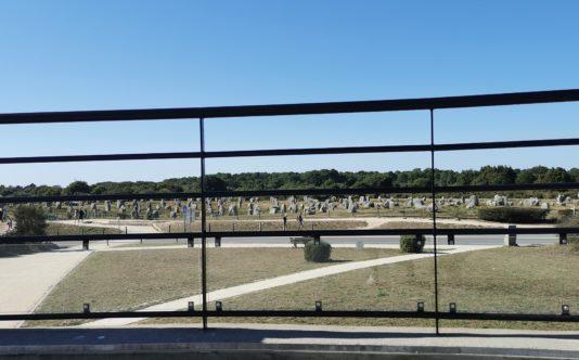 Garde-corps métallique pour la Maison des Mégalithes de Carnac - Renouard