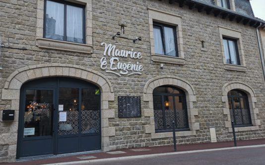 Porte d'entrée aluminium pour un restaurant à Loudéac - Renouard