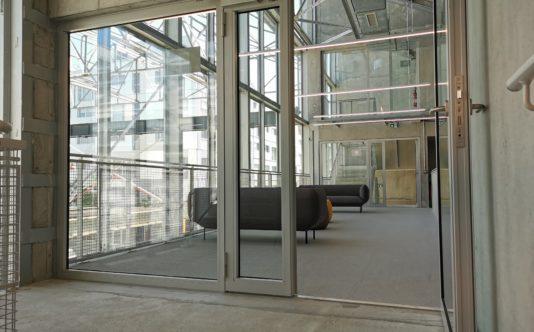Porte coupe-feu pour université de Nantes - Renouard
