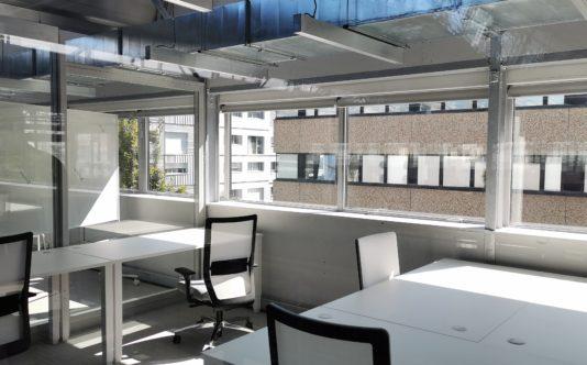 Fenêtres en acier - Pole numérique de nantes - Renouard