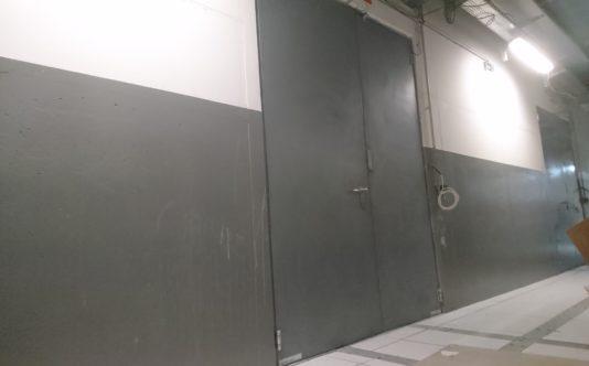 Porte acier pour le métro de Rennes - Renouard