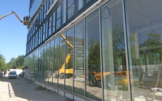 Menuiseries extérieures en aluminium pour MBA Mutuelle à Rennes
