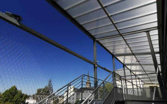 Aménagement en métallerie pour le lycée La Mennais | Renouard