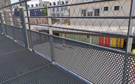 Garde-corps métalliques pour le Lycée La Mennais