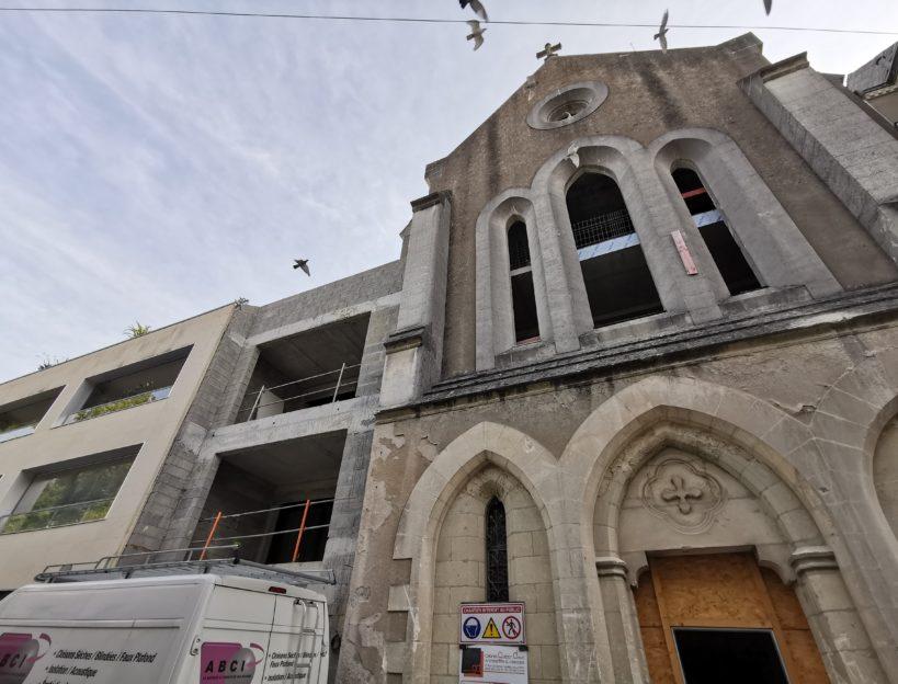 Réhabilitation chapelle Levesque de Nantes | Renouard