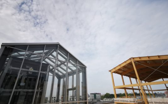 Serre aluminium pour VISEO | Renouard